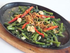 kangkung-hot-plate